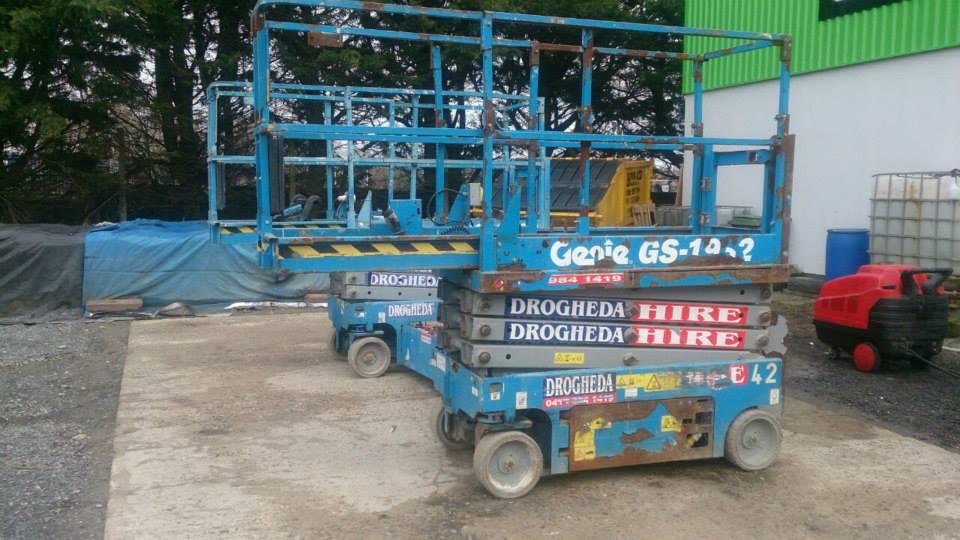 Genie Scissor Lift Refurb | Height Platforms
