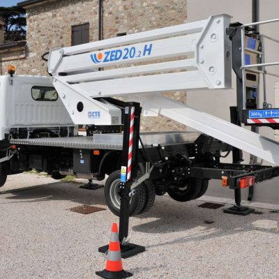 Nissan Cabstar CTE ZED20.2H Self Drive Hire - Hire from Height Platforms