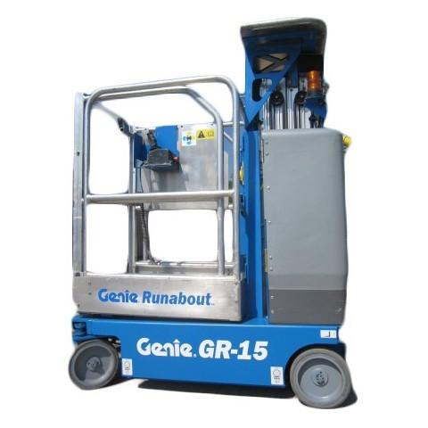 Genie GR15 Runabout Hire - Height Platforms - www.heightplatforms.ie