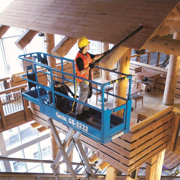 Battery Scissor Lifts Genie 3232 Hire from Height Platforms