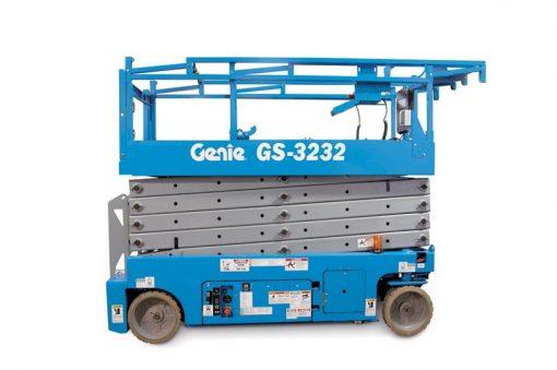 Genie GS-3232 Battery Scissor Lift Hire - Height Platforms - www.heightplatforms.ie