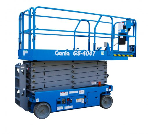Genie GS-4047 Battery Scissor Lift Hire - Height Platforms - www.heightplatforms.ie