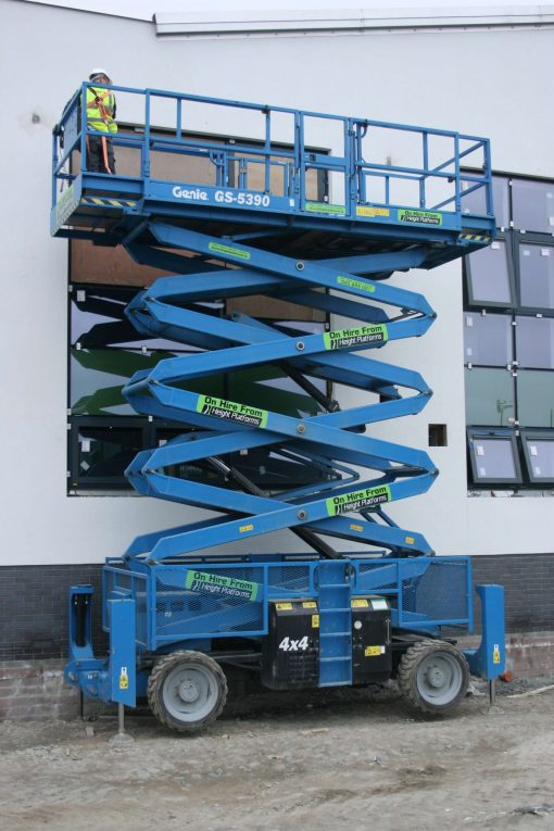 Diesel Scissor Lifts Genie GS5390RT Diesel Scissors Lift
