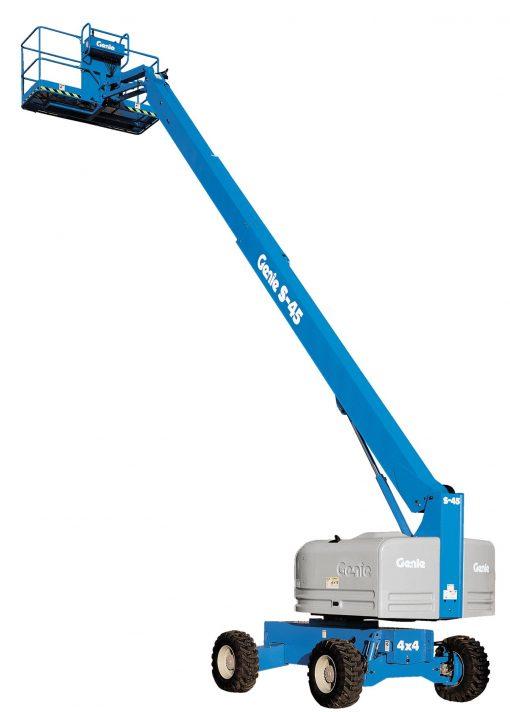 Genie S45 Telescopic Boom - Height Platforms - www.heightplatforms.ie