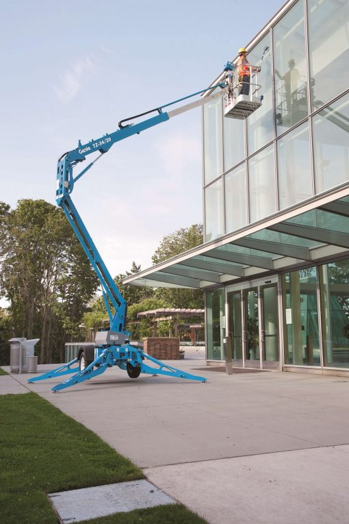 Genie TZ-34 Battery Articulated Tow-behind Boom