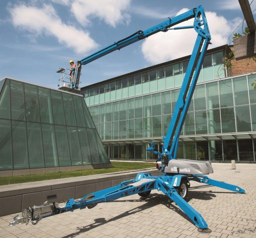 Genie TZ-50 Battery Articulated Tow-behind Boom