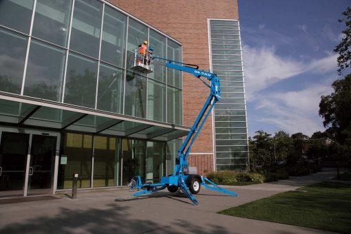 Genie TZ34 20 Trailer Mounted Lift Hire - Height Platforms - www.heightplatforms.ie