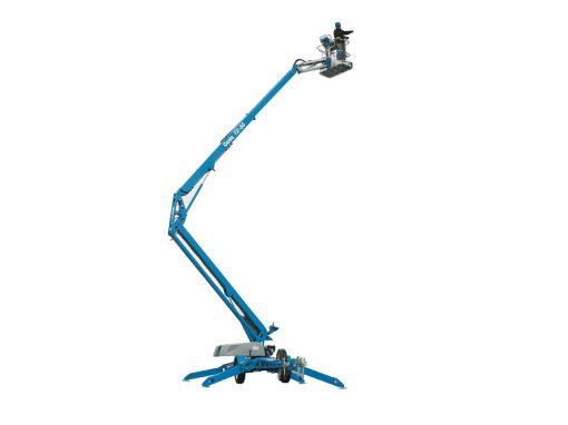 Genie TZ50 Trailer Mounted Boom Lift Hire 2- Height Platforms - www.heightplatforms.ie