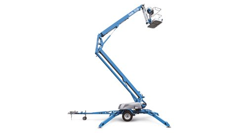 Genie TZ50 Trailer Mounted Boom Lift Hire Height Platforms www.heightplatforms.ie  - Genie TZ50
