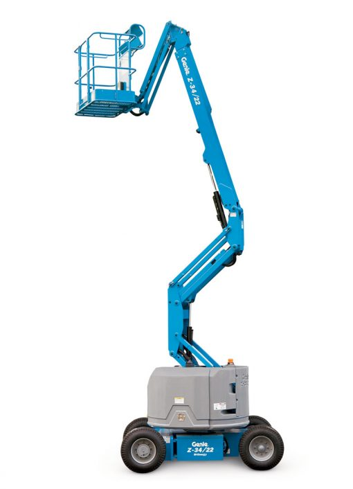 Genie Z-34/22N Articulated Boom Hire - Height Platforms - www.heightplatforms.ie