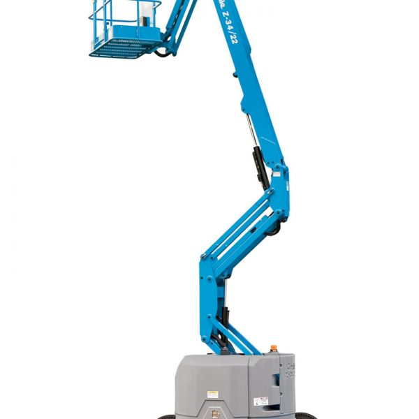 Genie Z-34/22N Articulated Boom Hire - Height Platforms - www.heightplatforms.ie