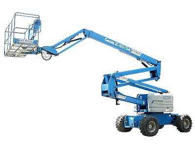 Genie Z60 34 - Articulated Boom Lift - Height Platforms - www.heightplatforms.ie