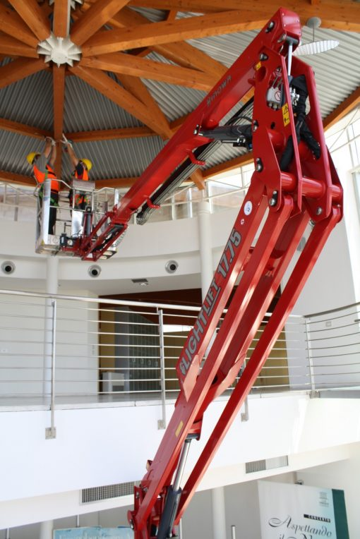 Hinowa Lightlift 17.75 Lithium Ion Spider Lift Hire - Height Platforms - www.heightplatforms.ie
