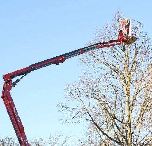 Hinowa Lightlift 20.10 IIS Spider Lift Hire - Height Platforms - www.heightplatforms.ie