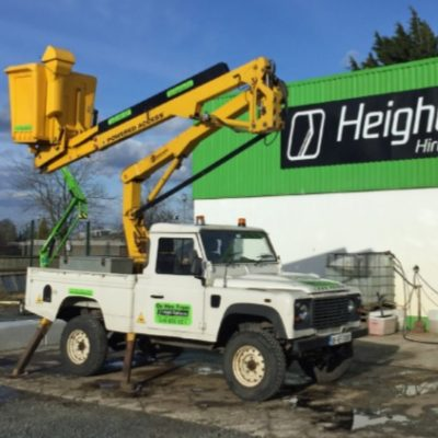 Land Rover Gardner Denver 13.5 Self Drive Hire from Height Platforms