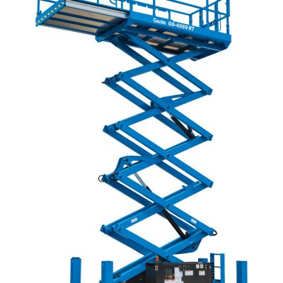 Genie 4069RT Diesel Scissors Lift Hire from Height Platforms