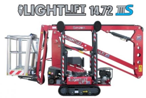 Hinowa Lightlift 14.72 IIIS hire from Height Platforms