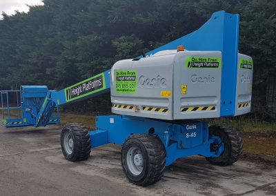 Genie S45 Telescopic Diesel Boom for sale 6 400x284 - Plant for Sale