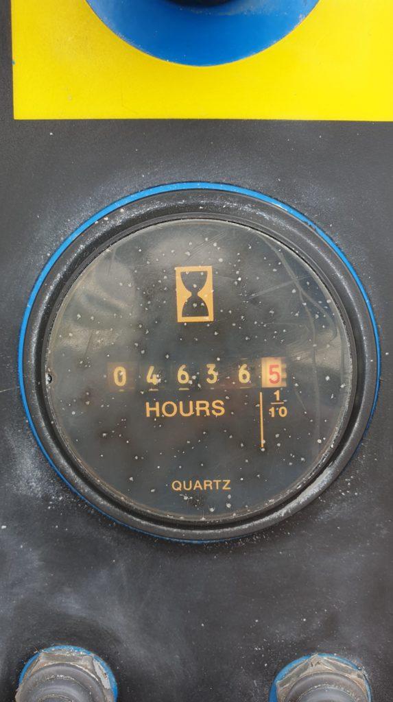 Genie Z45 25J Hour clock-min for sale from Height Platforms - www.heightplatforms.ie