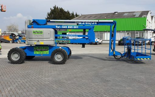 Genie Z6034 left side-min for sale from Height Platforms - www.heightplatforms.ie