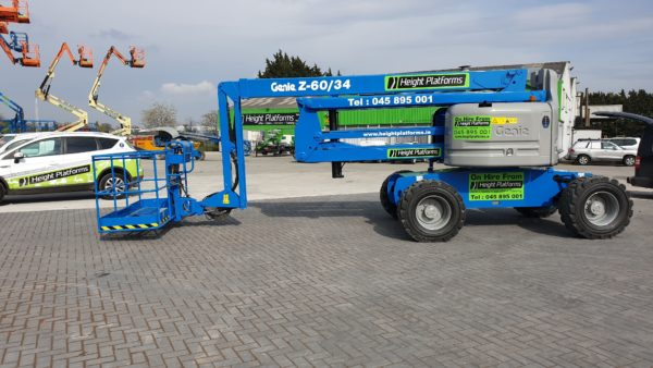 Genie Z60 34 right side-min for sale from Height Platforms - www.heightplatforms.ie