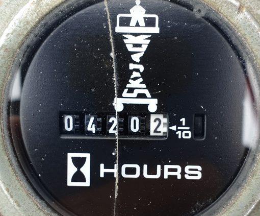 Skyjack 4632 hour clock-min for sale from Height Platforms - www.heightplatforms.ie