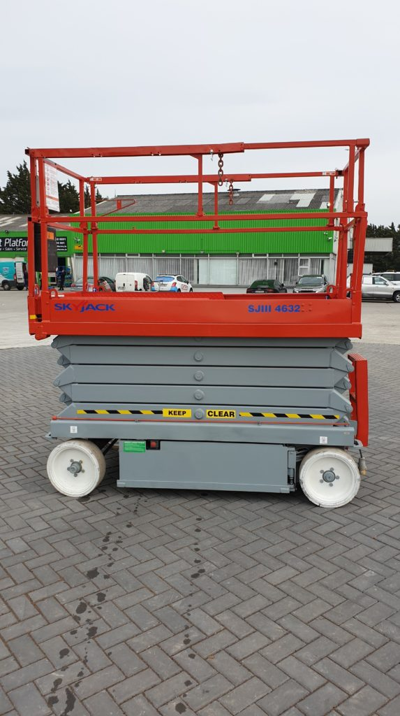 Skyjack 4632 left side-min for sale from Height Platforms - www.heightplatforms.ie