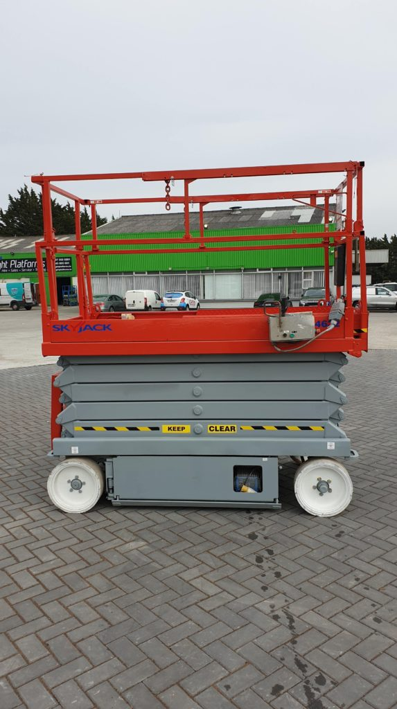 Skyjack 4632 right side-min for sale from Height Platforms - www.heightplatforms.ie