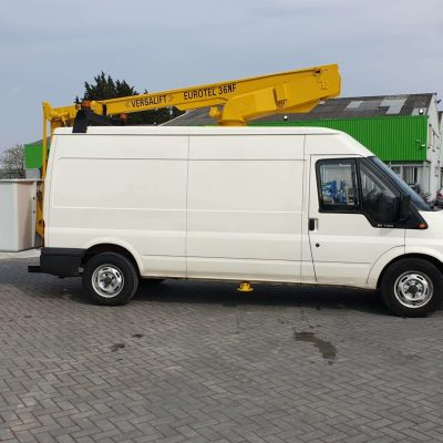Right Side View- Versalift ET36NF on Ford Transit Van for Sale from Height Platforms - www.heightplatforms.ie