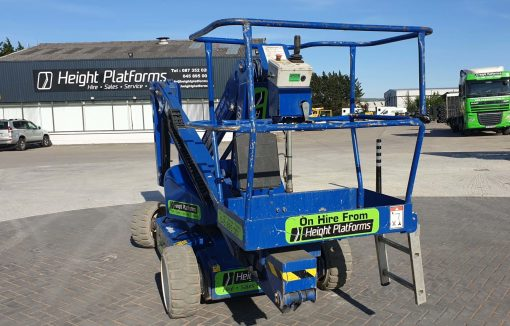 AB38 117HP rear left - AB38 Battery Articulated Boom Lift for Sale from Height Platforms - www.heightplatforms.ie