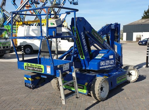 AB38 117HP rear right - AB38 Battery Articulated Boom Lift for Sale from Height Platforms - www.heightplatforms.ie