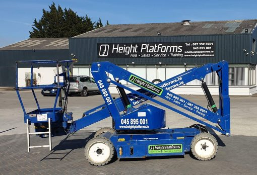AB38 117HP right side - AB38 Battery Articulated Boom Lift for Sale from Height Platforms - www.heightplatforms.ie