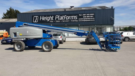 Genie S65-368HP left side Genie S65 Diesel Telescopic Boom for sale