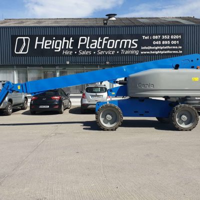 Genie S65-368HP right side Genie S65 Diesel Telescopic Boom for sale
