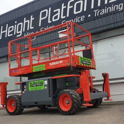 Skyjack SJ6832RT Diesel Scissors Lift for sale from Height Platforms