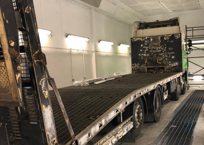 Height Platforms Delivery Lorry before 400x284 - Height Platforms' Delivery Lorry