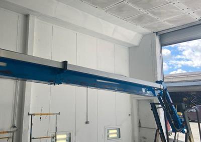 Height Platforms Refurb Centre Spray Shop Internal 400x284 - State-of-the-Art Refurb Centre